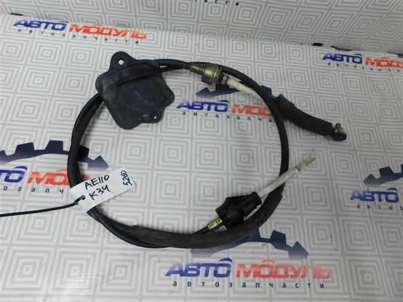 Трос переключения акпп Toyota Sprinter AE110-7010805 5A-FE 1996