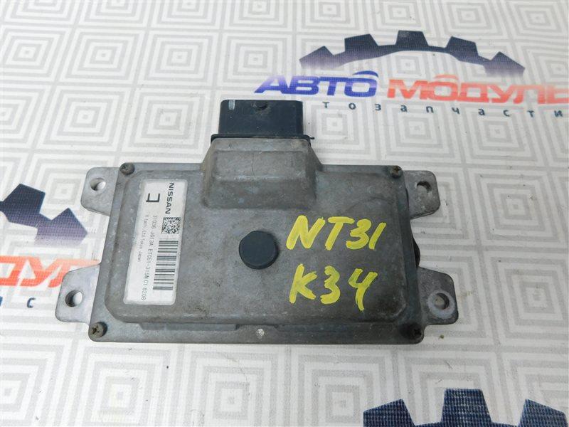 Блок управления акпп Nissan X-Trail NT31-000035 MR20-DE 2007