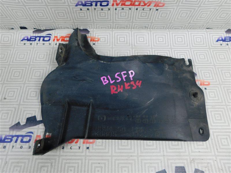 Защита двигателя Mazda Axela BL5FP-102192 ZY-VE 2009 правая