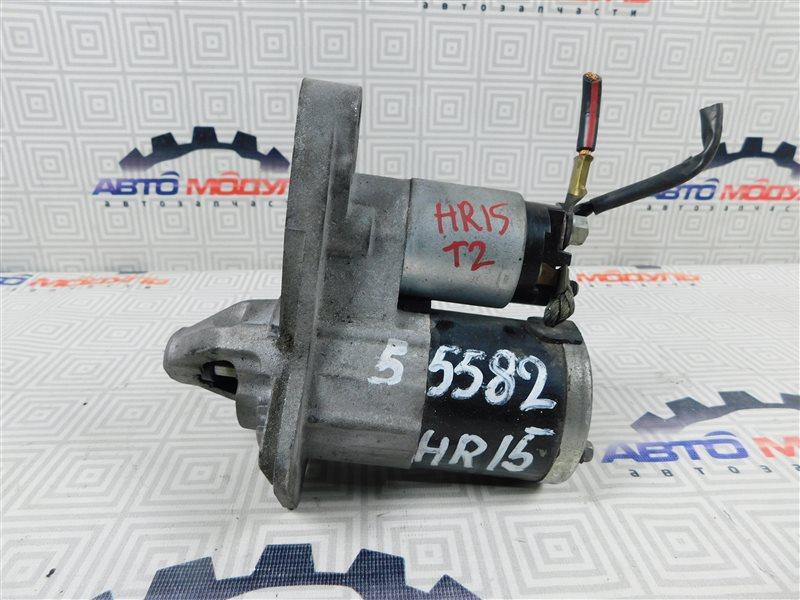 Стартер Nissan Cube YZ11 HR15