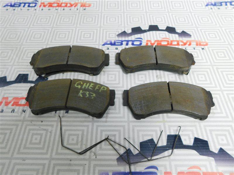 Колодки тормозные Mazda Atenza GHEFP передние
