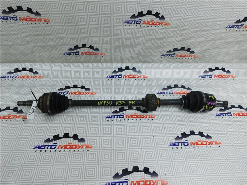 Привод Toyota Probox NLP51 1NZ передний правый