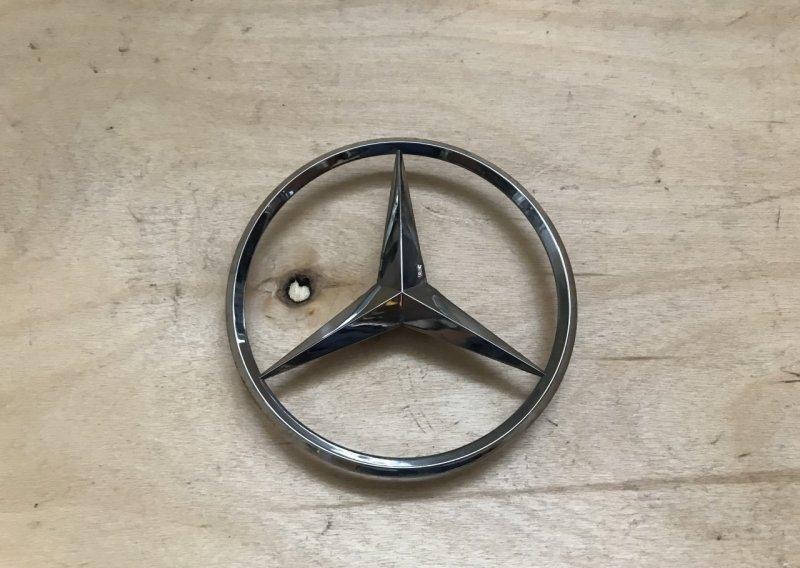 Эмблема Mercedes B-class W245 2005 задняя (б/у)