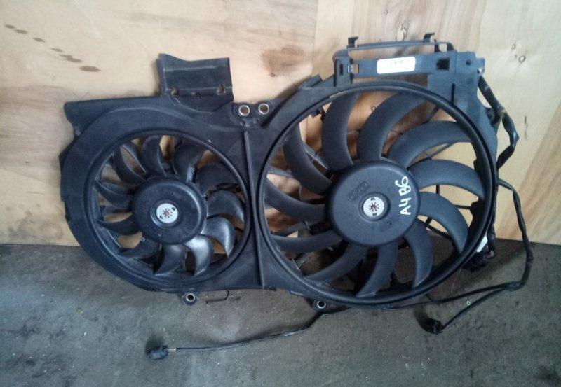 Диффузор с вентилятором Audi A4 B6 ALT 2000 (б/у)