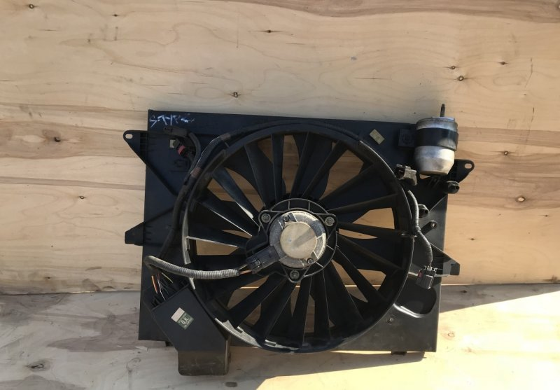 Диффузор с вентилятором Jaguar S-type (б/у)