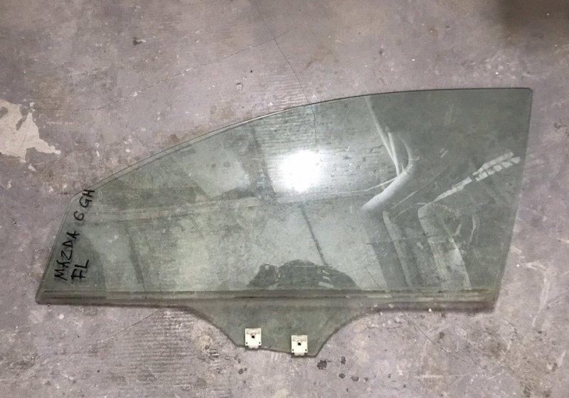 Стекло двери Mazda 6 GH переднее левое (б/у)