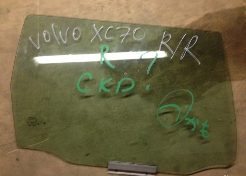 Стекло двери Volvo XC70 1 2000 заднее (б/у)
