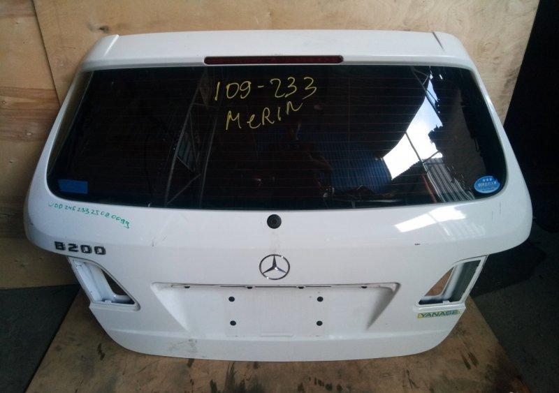 Дверь багажника Mercedes B-class W245 2005 (б/у)