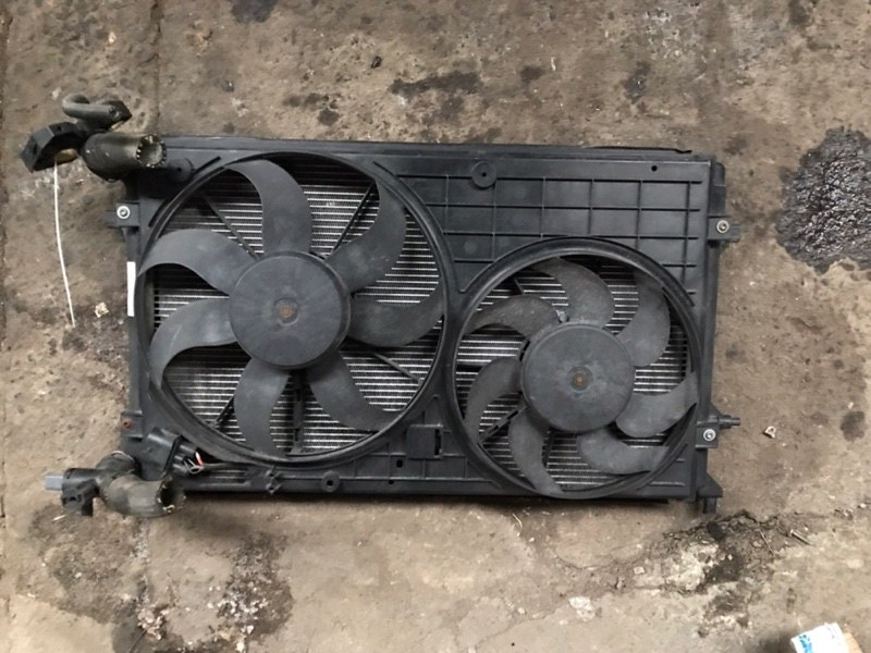Радиатор основной Volkswagen Golf 5 (б/у)