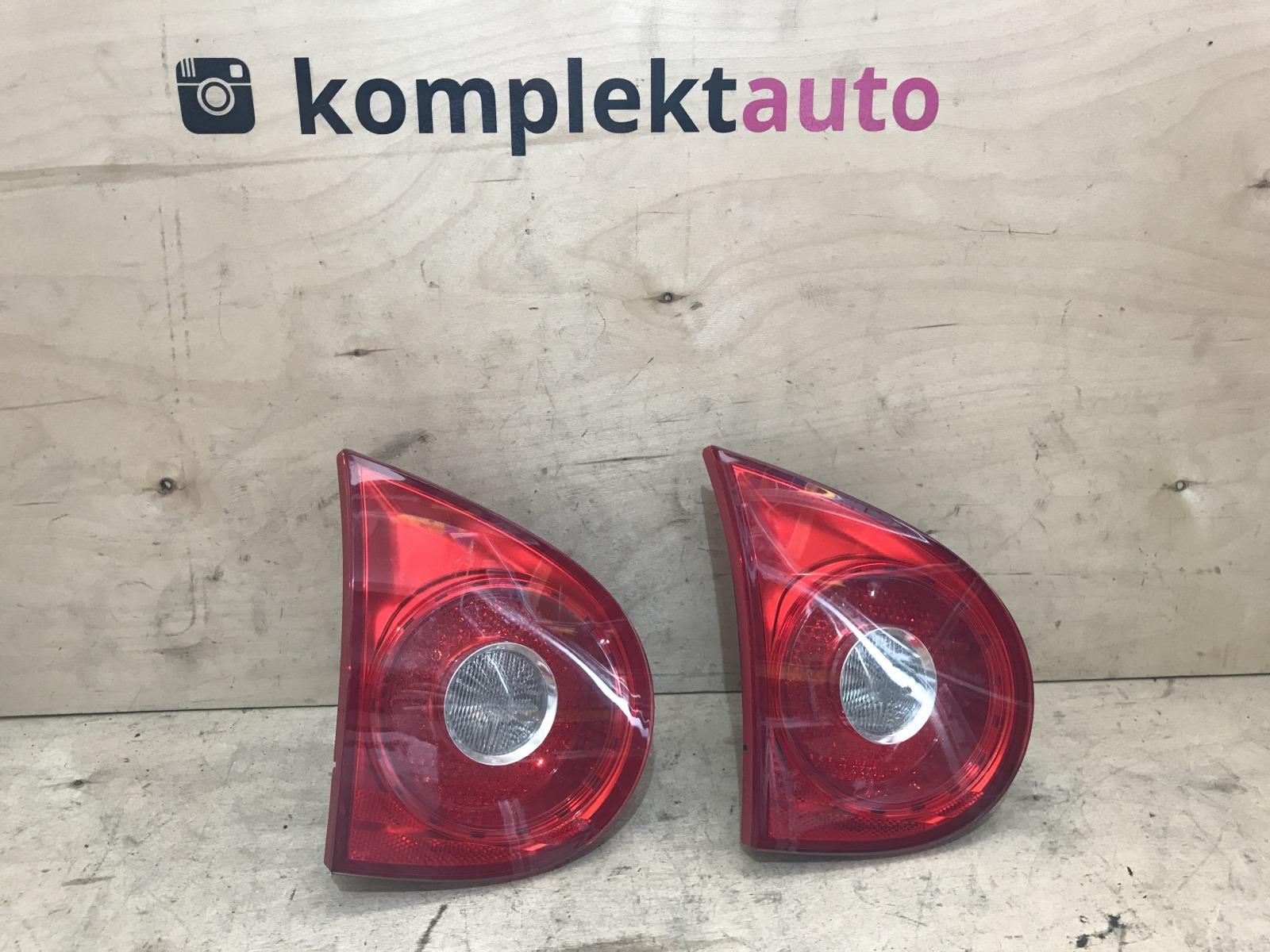 Фонарь в крышку багажника Volkswagen Golf 5 задний левый (б/у)