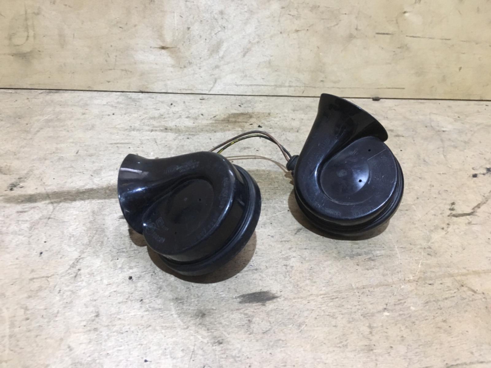 Сигналы звуковые комплект Porsche Cayenne 957 (б/у)