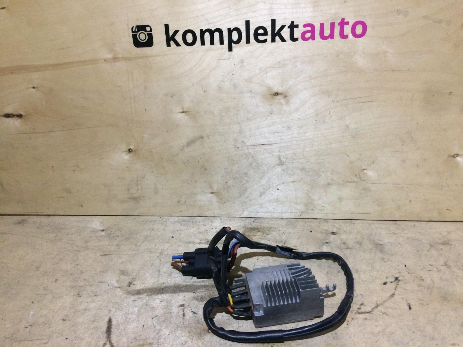 Блок управления вентилятором Audi A4 B6 2000 (б/у)