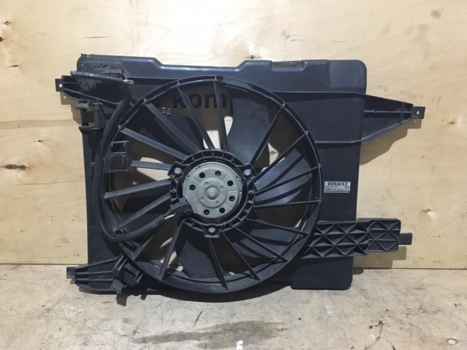 Диффузор с вентилятором Renault Megane 2 (б/у)