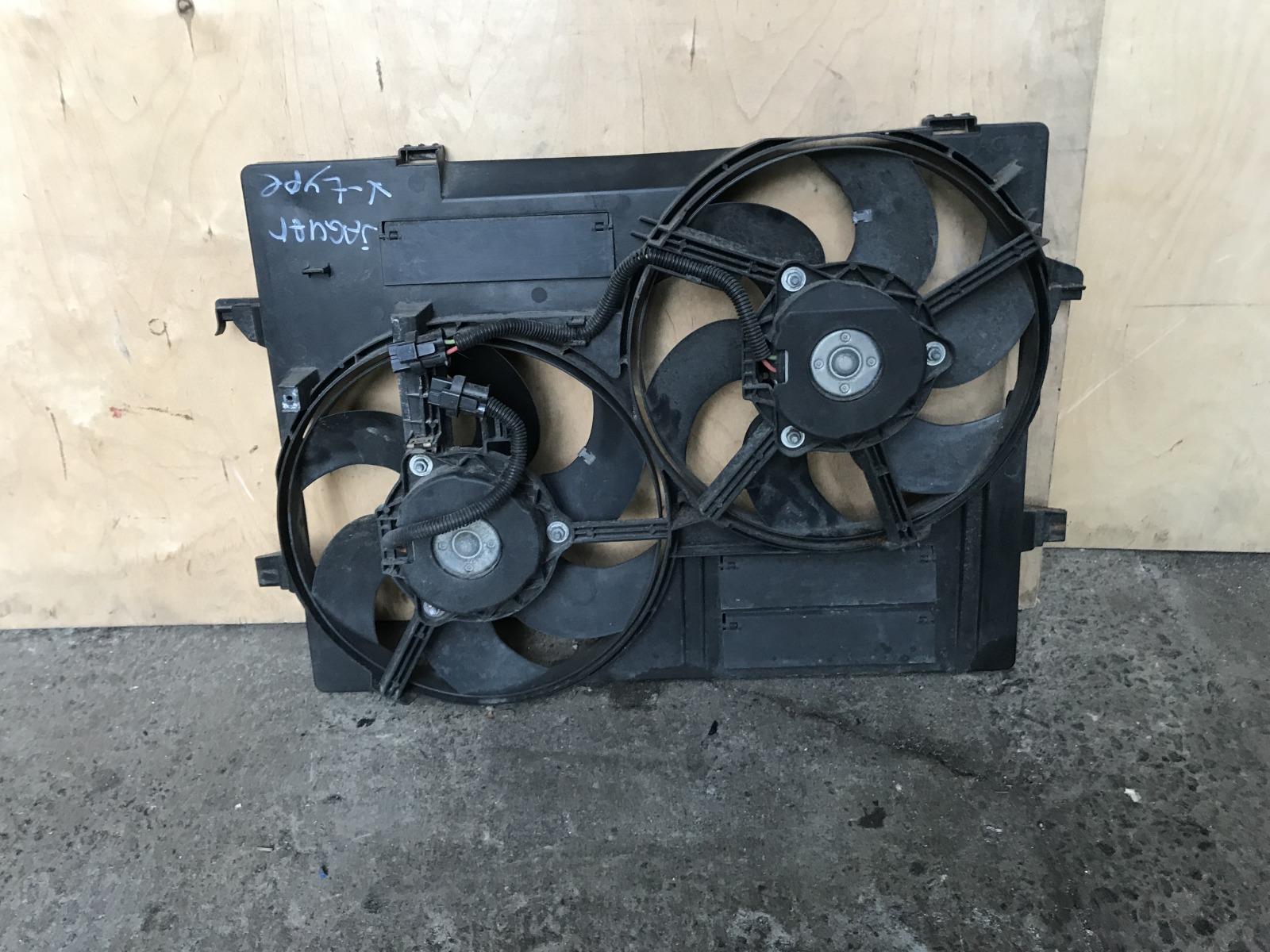 Диффузор с вентилятором Jaguar X-type 2006 (б/у)