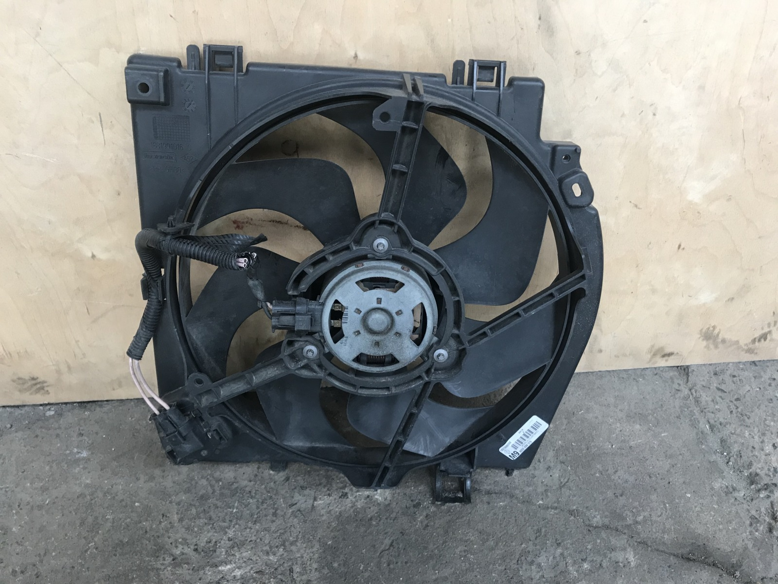 Вентилятор радиатора Renault Clio 3 2005 (б/у)