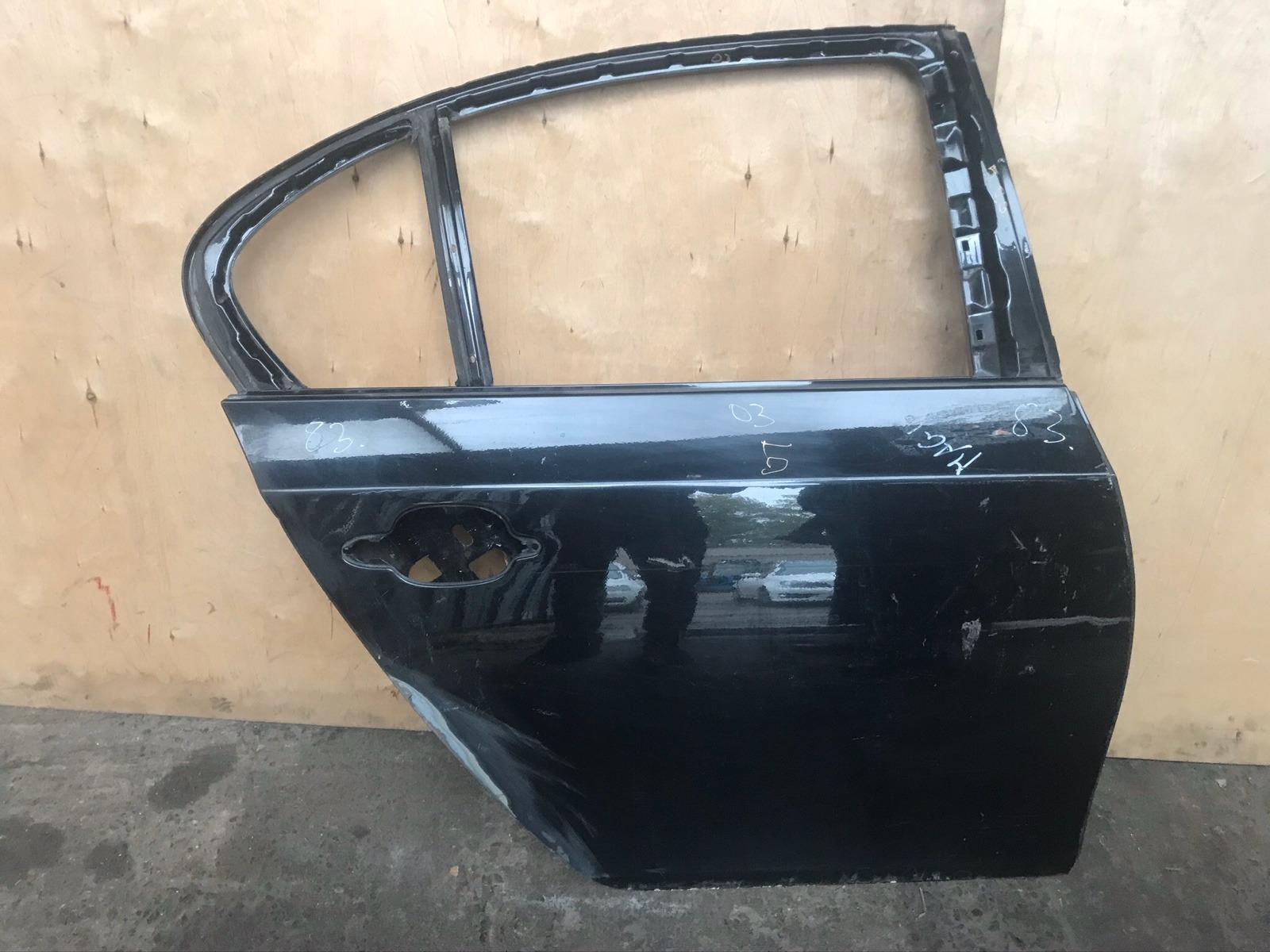 Дверь BMW 5-series E60 2002 задняя правая (б/у)