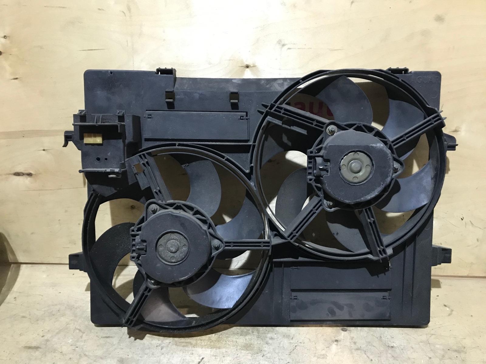 Диффузор с вентилятором Jaguar X-type 2001 (б/у)