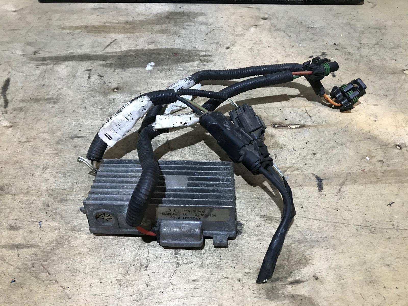 Блок управления вентилятором Jaguar X-type 2001 (б/у)