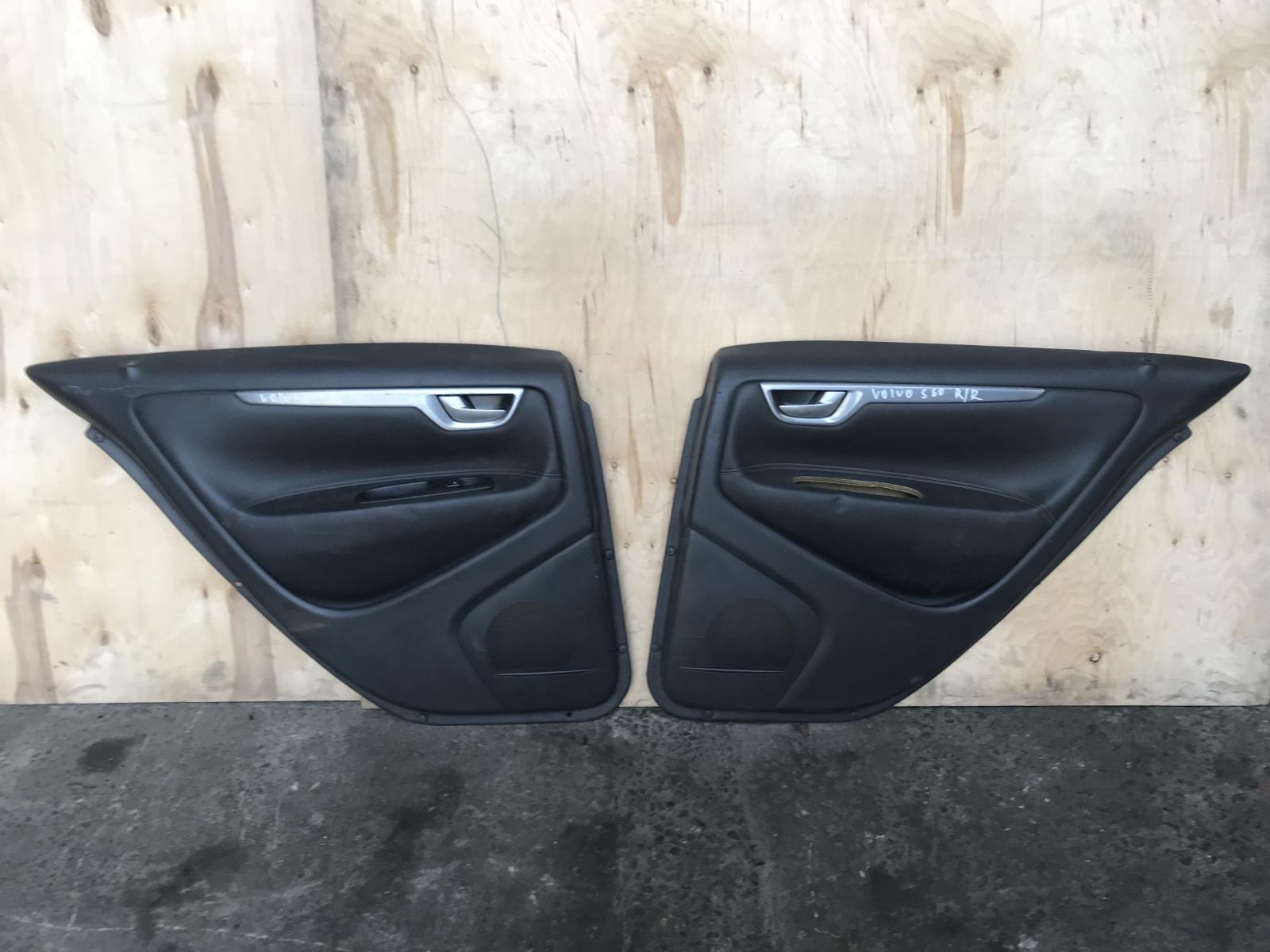 Обшивка двери Volvo S60 2000 задняя (б/у)