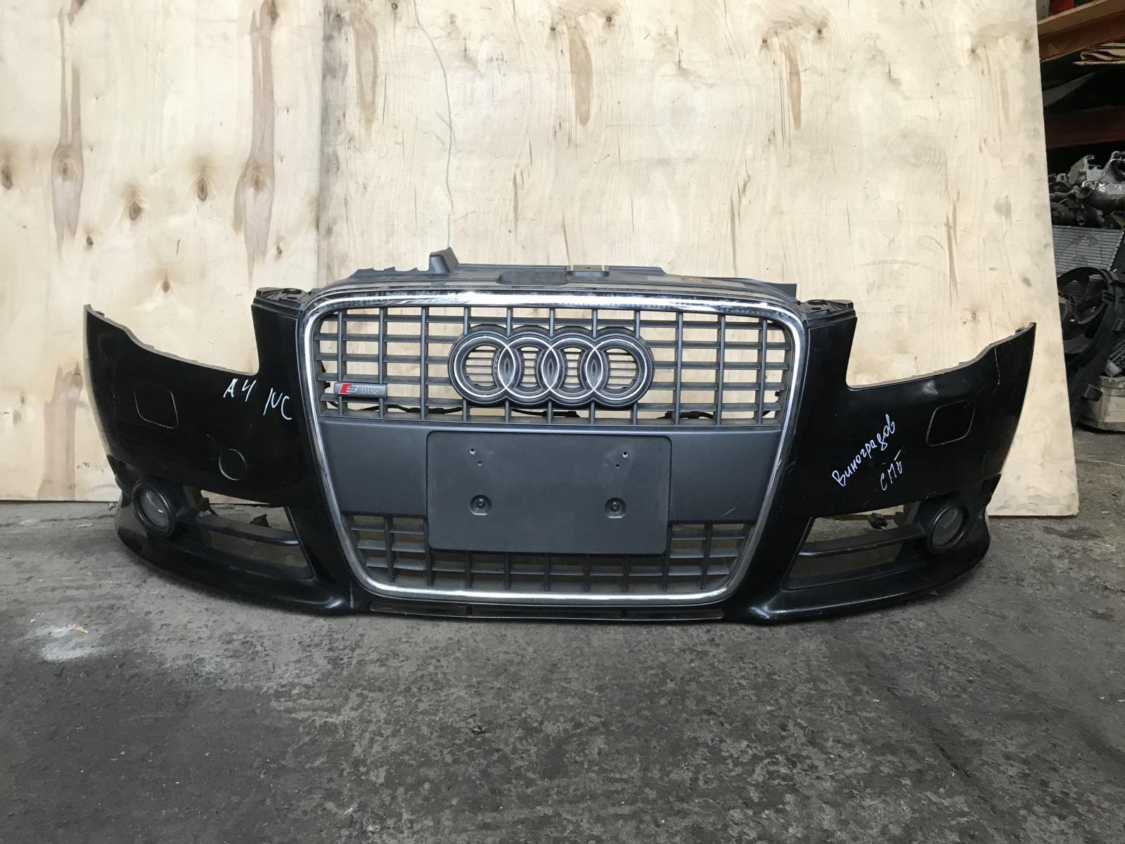 Бампер Audi A4 B7 передний (б/у)