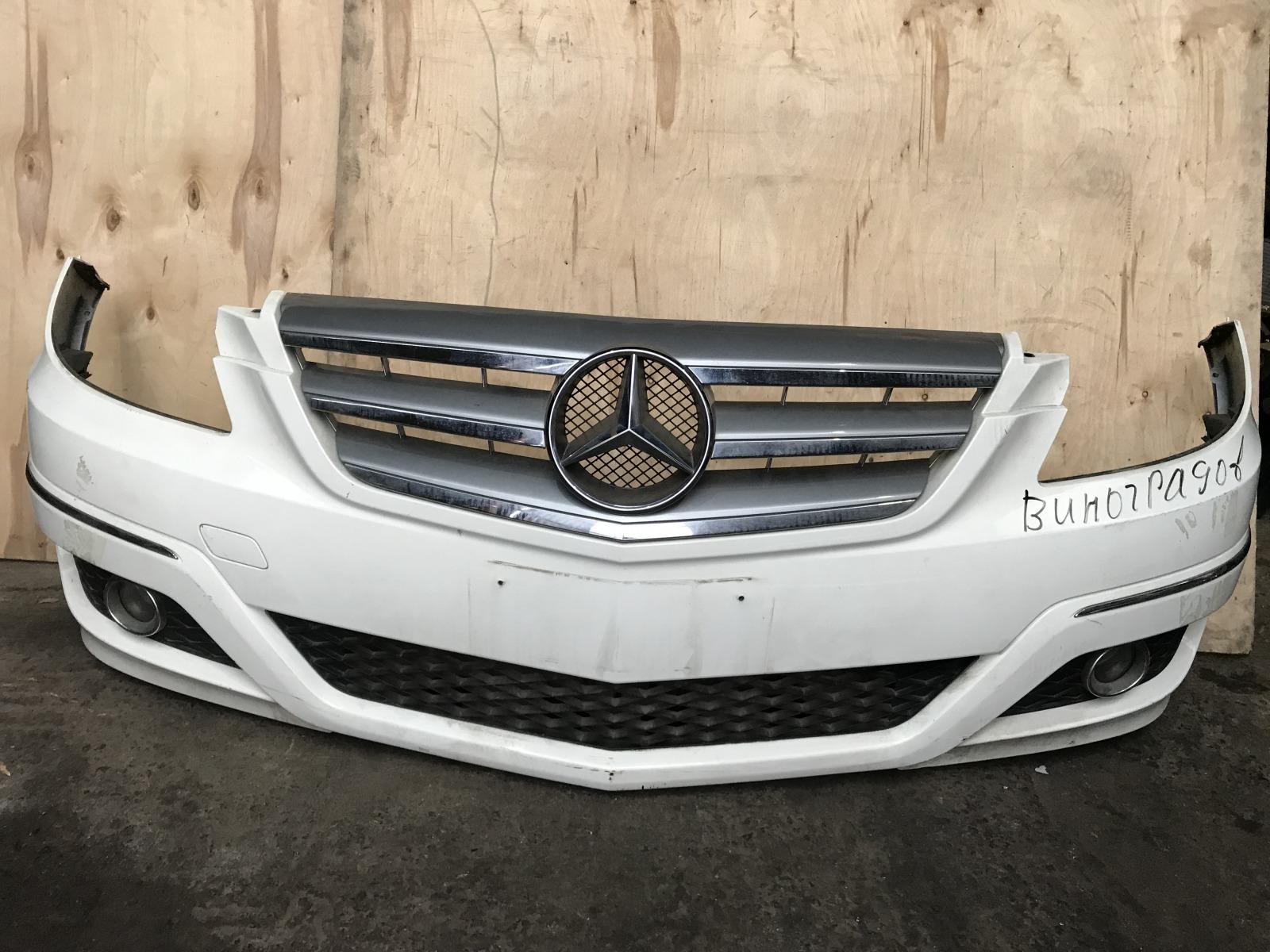 Бампер Mercedes B-class W245 2008 передний (б/у)