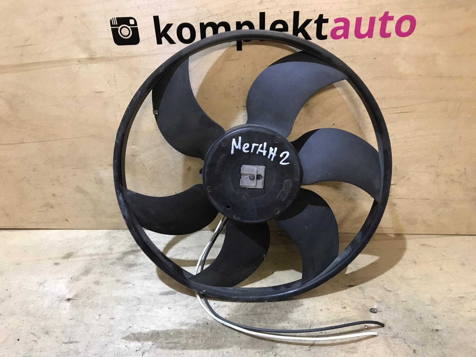 Вентилятор радиатора Renault Megane 2 2002 (б/у)