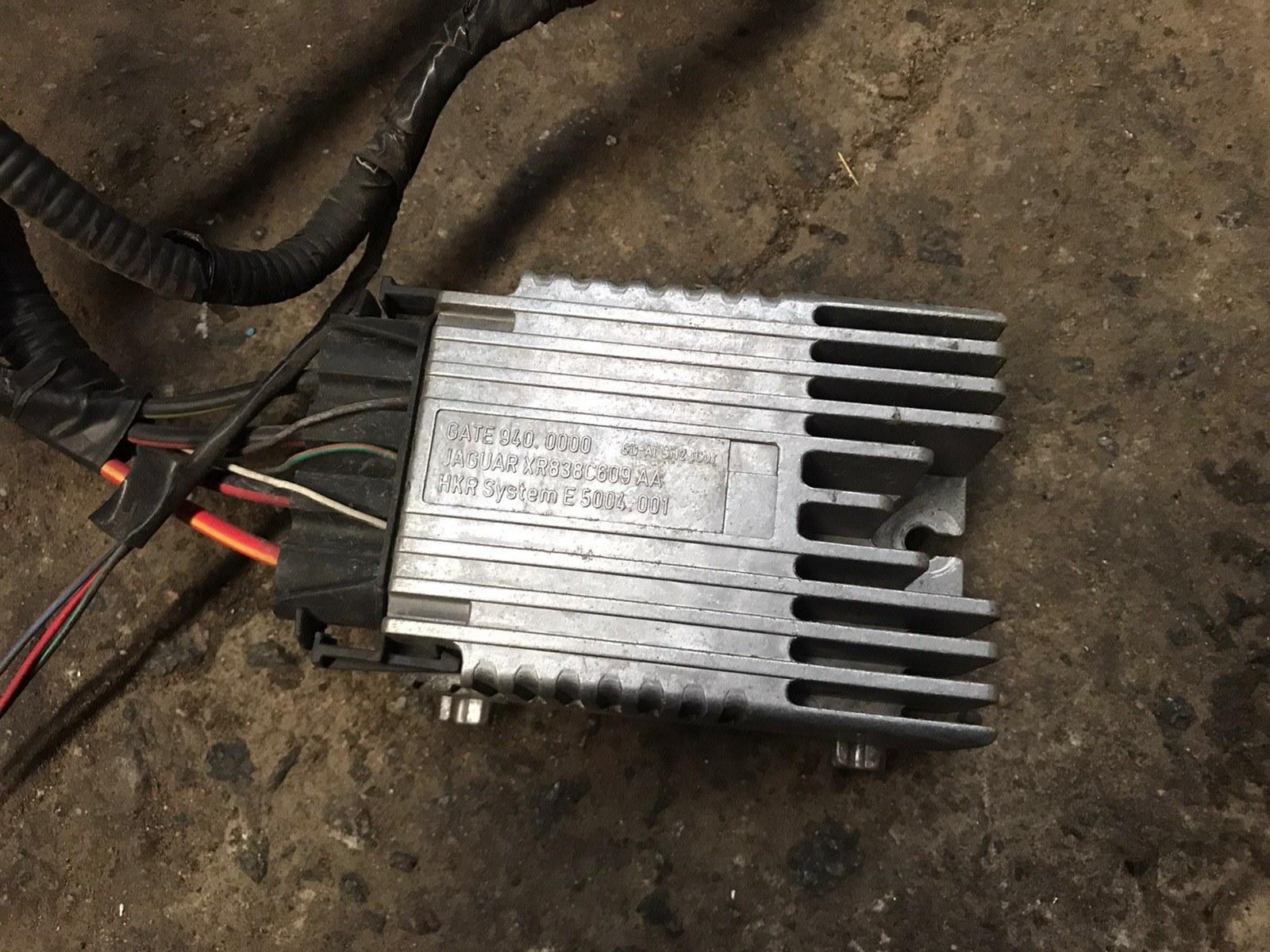 Блок управления вентилятором Jaguar S-type 1999 (б/у)