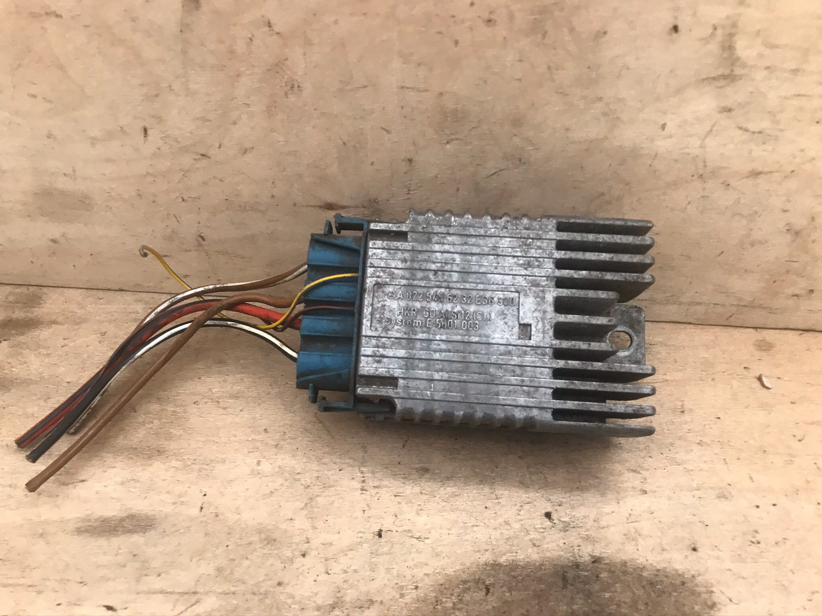 Блок управления вентилятором Mercedes A-Class W168 1997 (б/у)