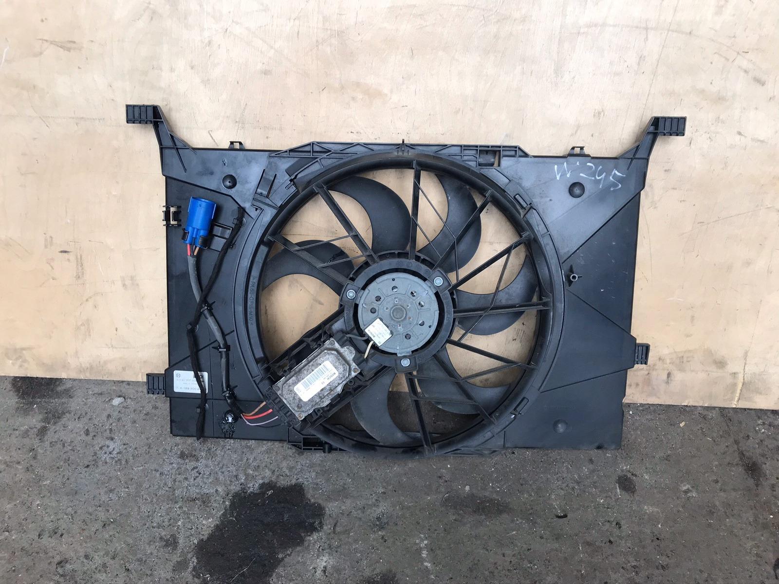 Диффузор с вентилятором Mercedes B-class W245 2004 (б/у)