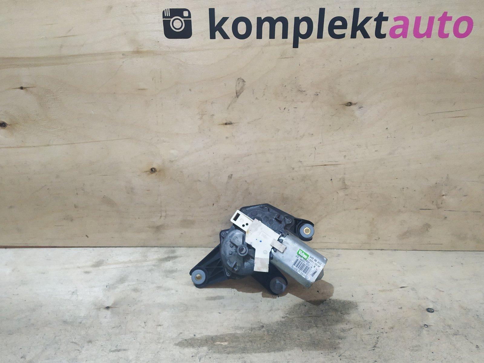 Моторчик стеклоочистителя Renault Scenic 2 задний (б/у)