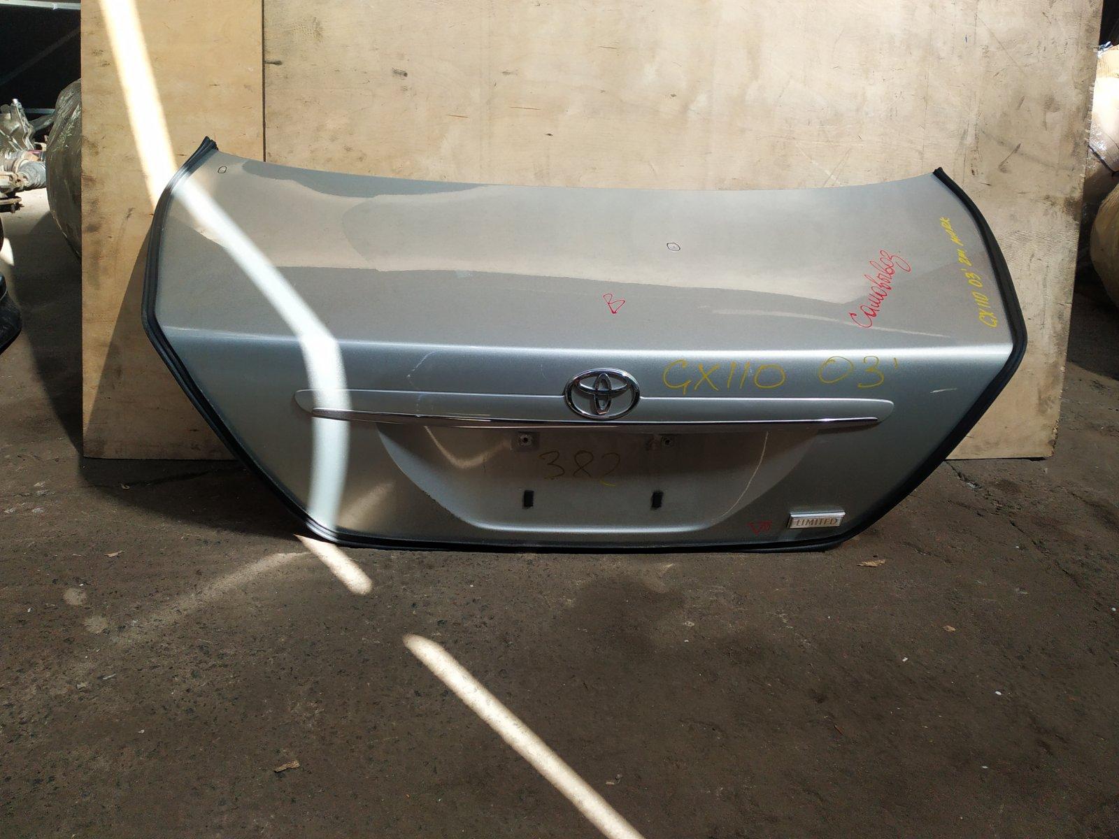 Крышка багажника Toyota Mark 2 110 2002 (б/у)