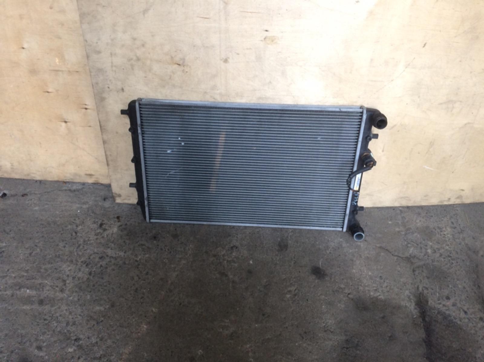 Радиатор основной Volkswagen Polo 4 (б/у)