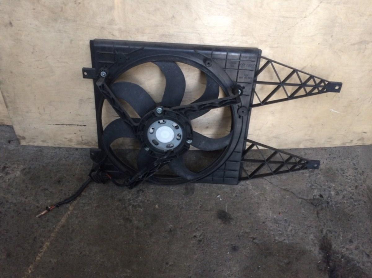Диффузор с вентилятором Volkswagen Polo 4 2001 (б/у)