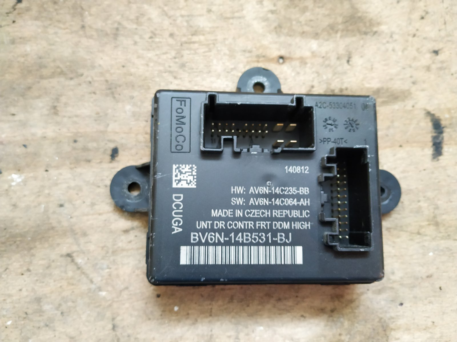 Блок комфорта Ford Focus 3 СЕДАН 2.0 TDCI 2011 передний левый (б/у)