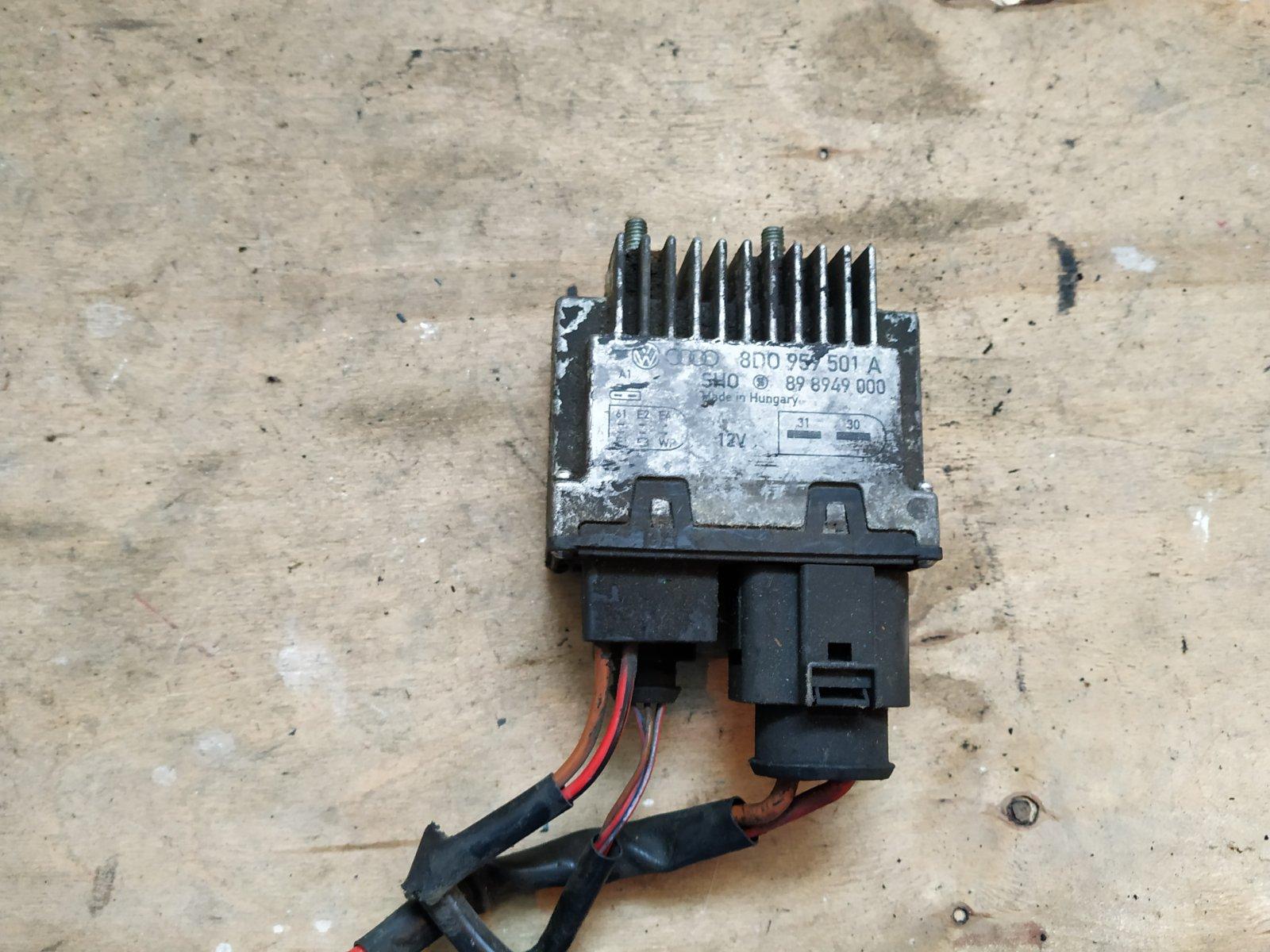 Блок управления вентилятором Volkswagen Passat B5+ 2000 (б/у)