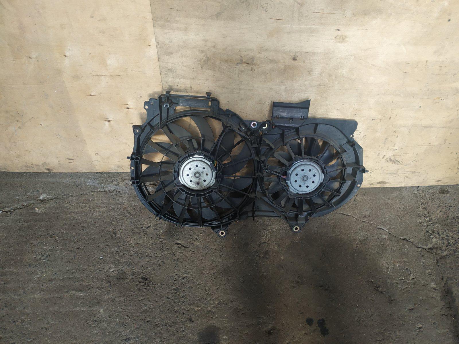 Диффузор с вентилятором Audi A4 B6 2000 (б/у)