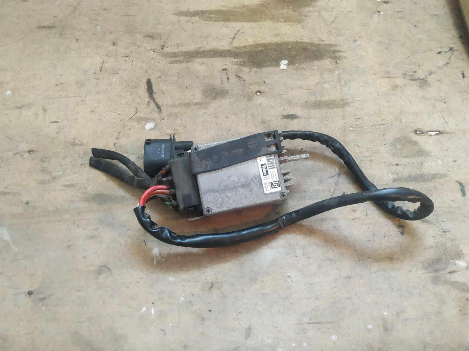 Блок управления вентилятором Audi A6 С5 1997 (б/у)