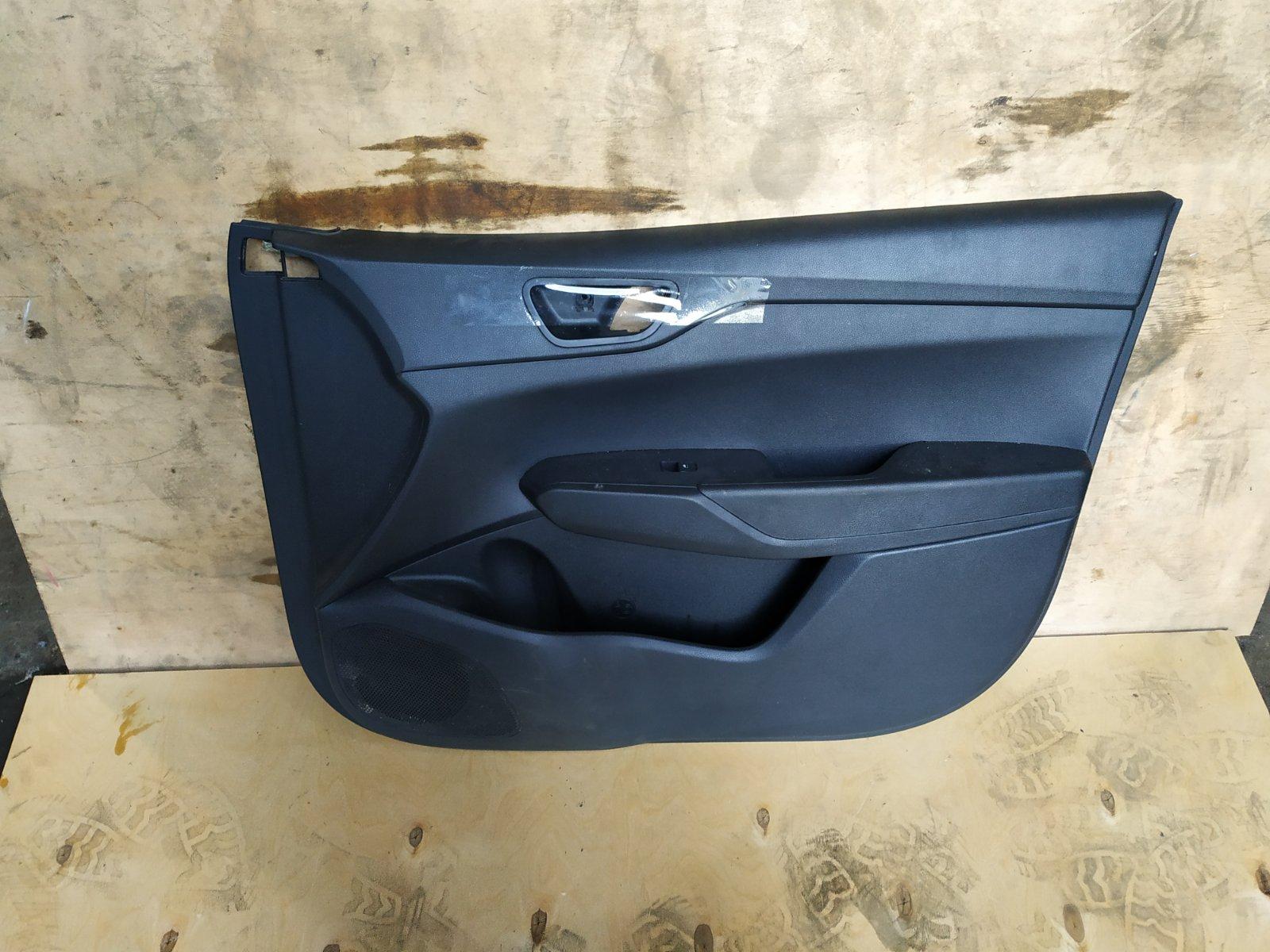 Обшивка двери Hyundai Solaris 2 G4LC 2017 передняя правая (б/у)