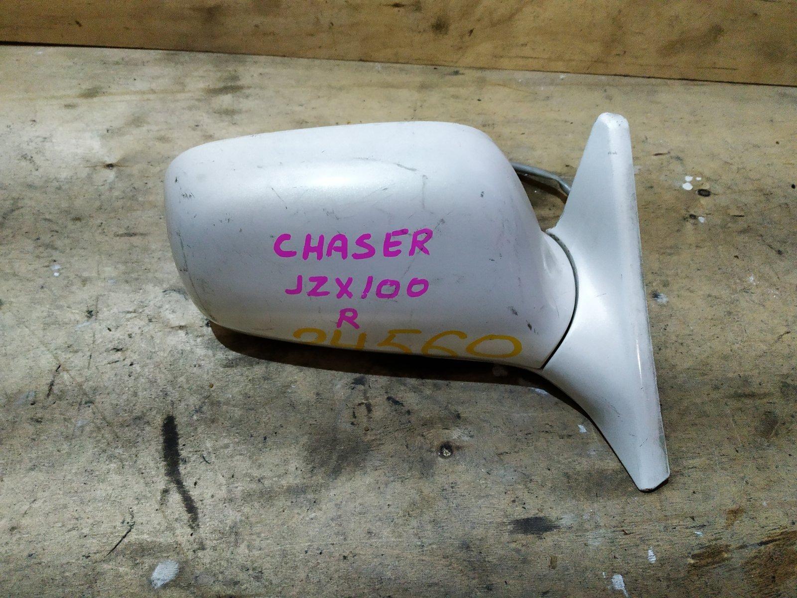 Зеркало боковое Toyota Chaser 100 1996 правое (б/у)