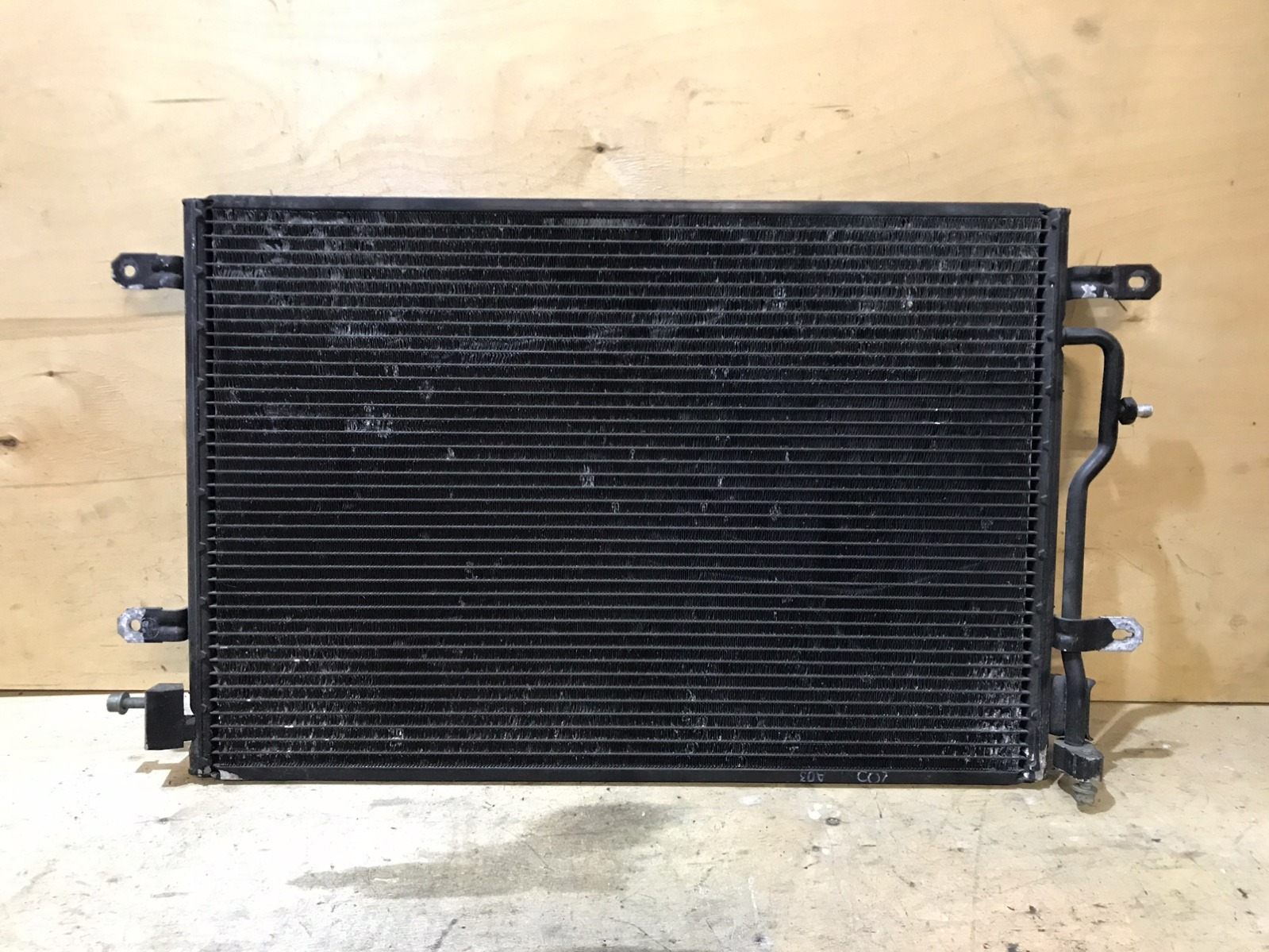 Радиатор кондиционера Audi A4 B6 2000 (б/у)