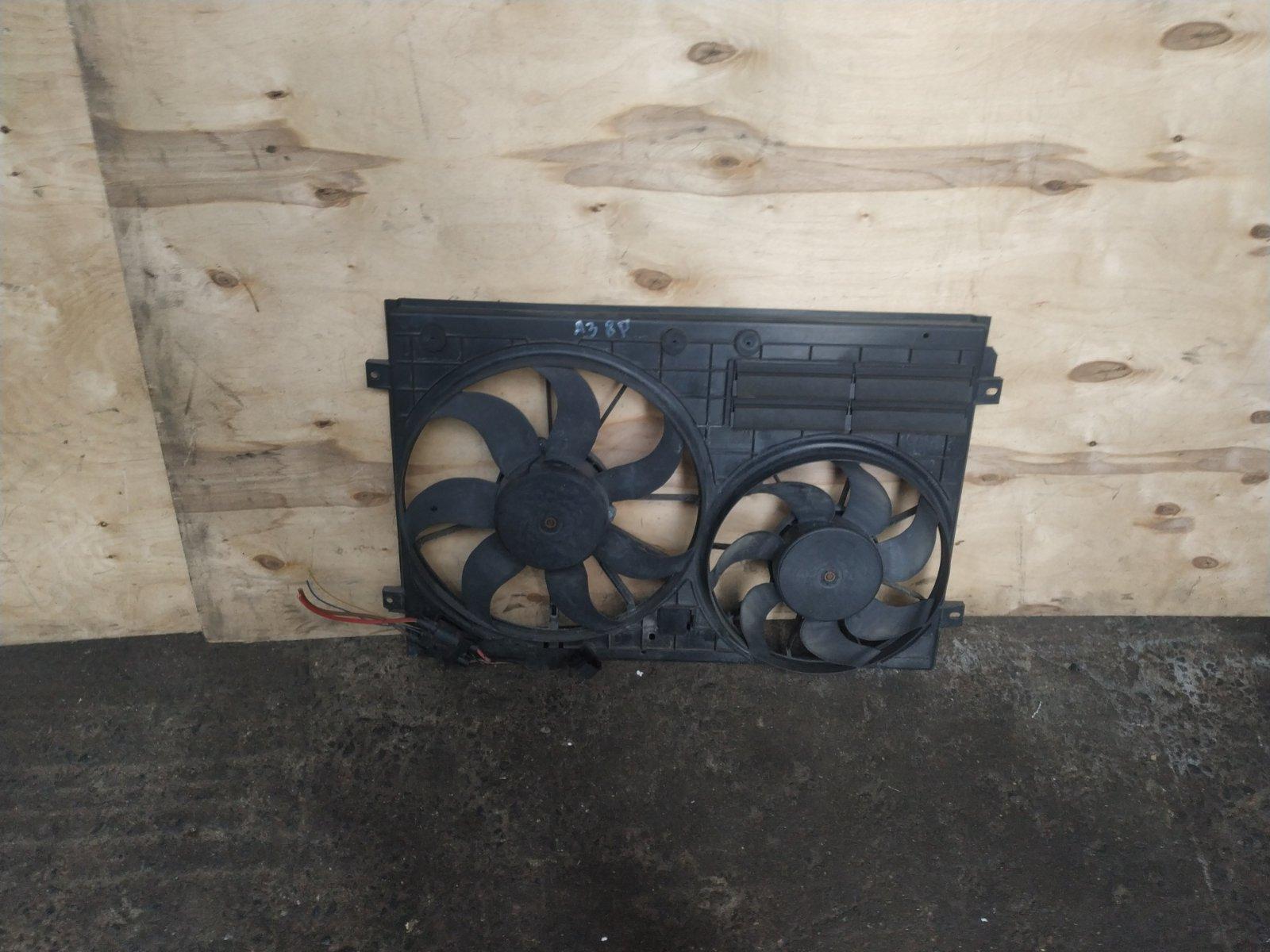Диффузор с вентилятором Audi A3 8P 2003 (б/у)