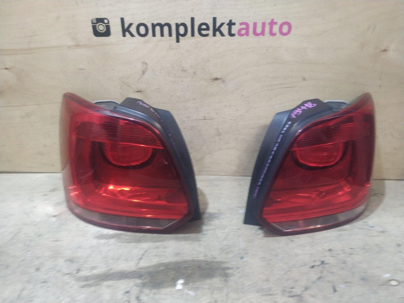 Фонарь Volkswagen Polo 5 HATCHBACK 2010 задний (б/у)