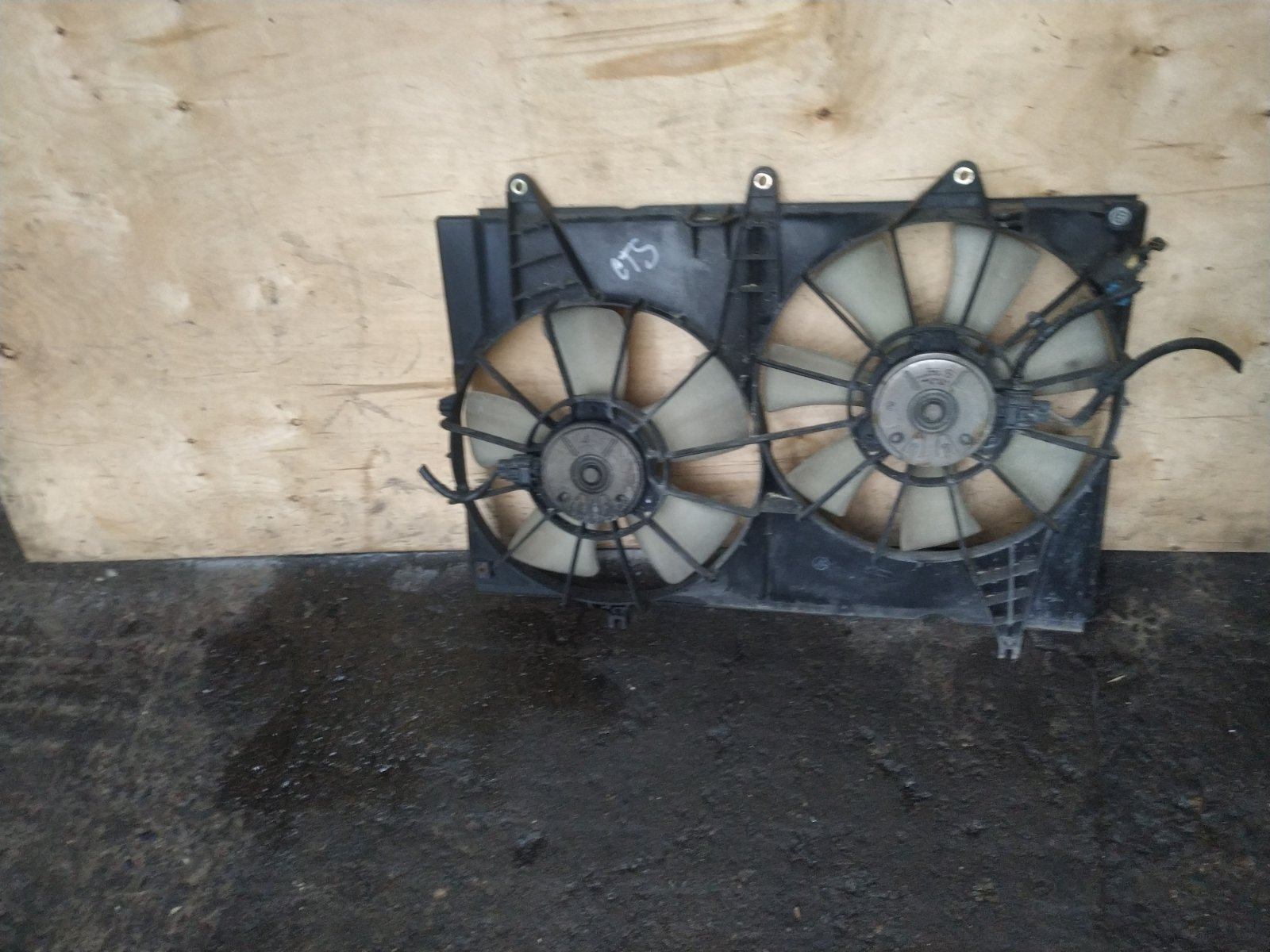 Диффузор с вентилятором Cadillac CTS 1 2002 (б/у)