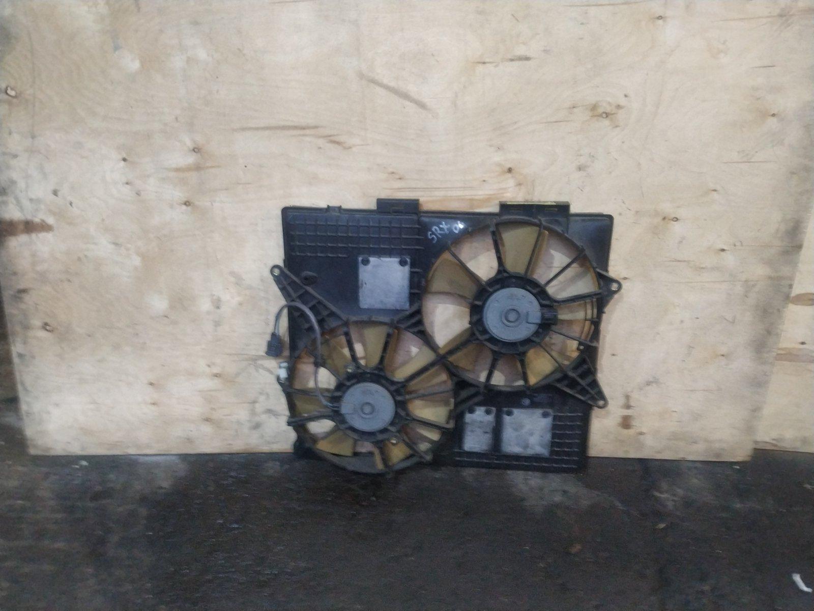 Диффузор с вентилятором Cadillac SRX 1 2003 (б/у)