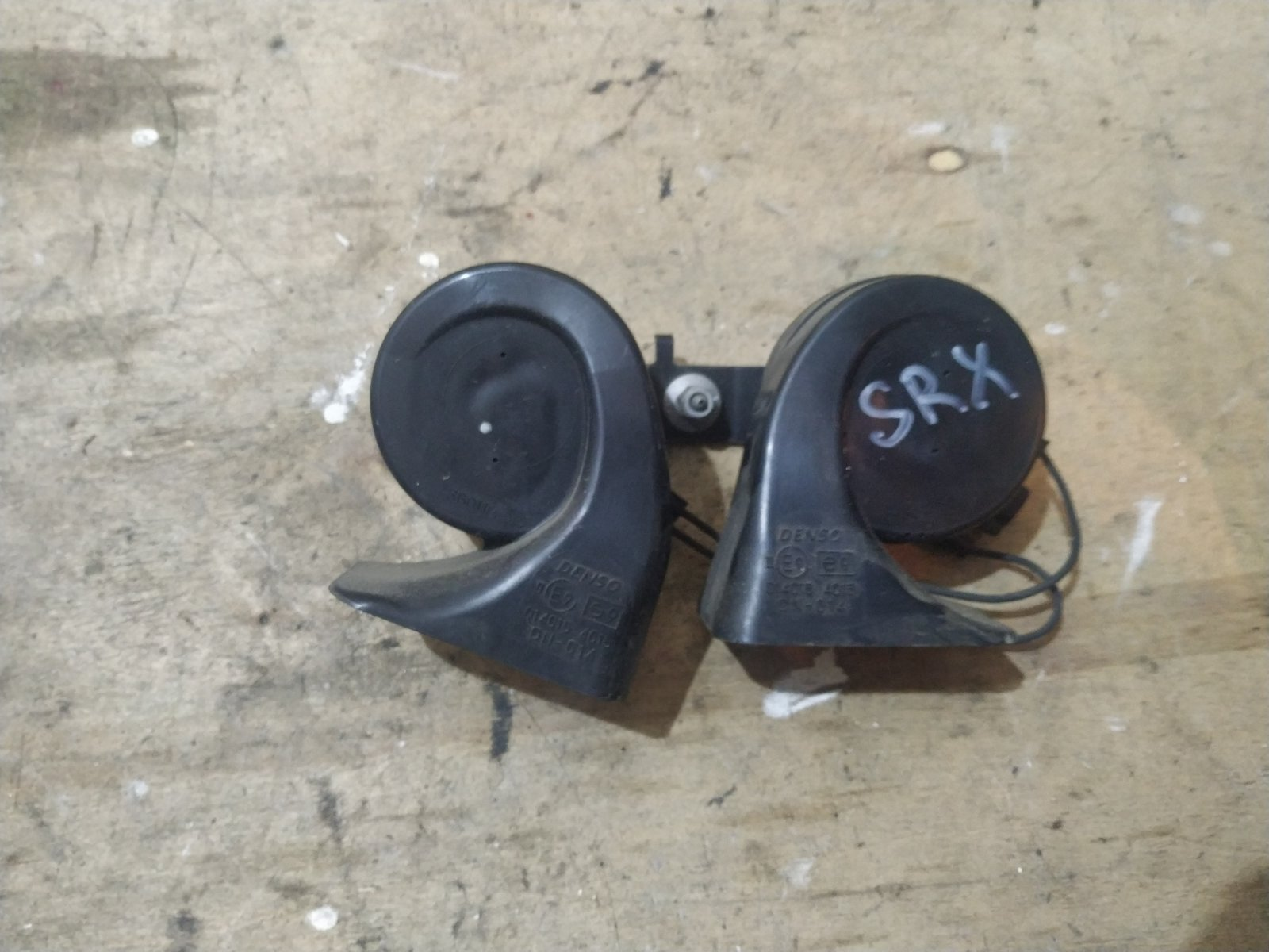 Сигналы звуковые комплект Cadillac SRX 1 2003 (б/у)