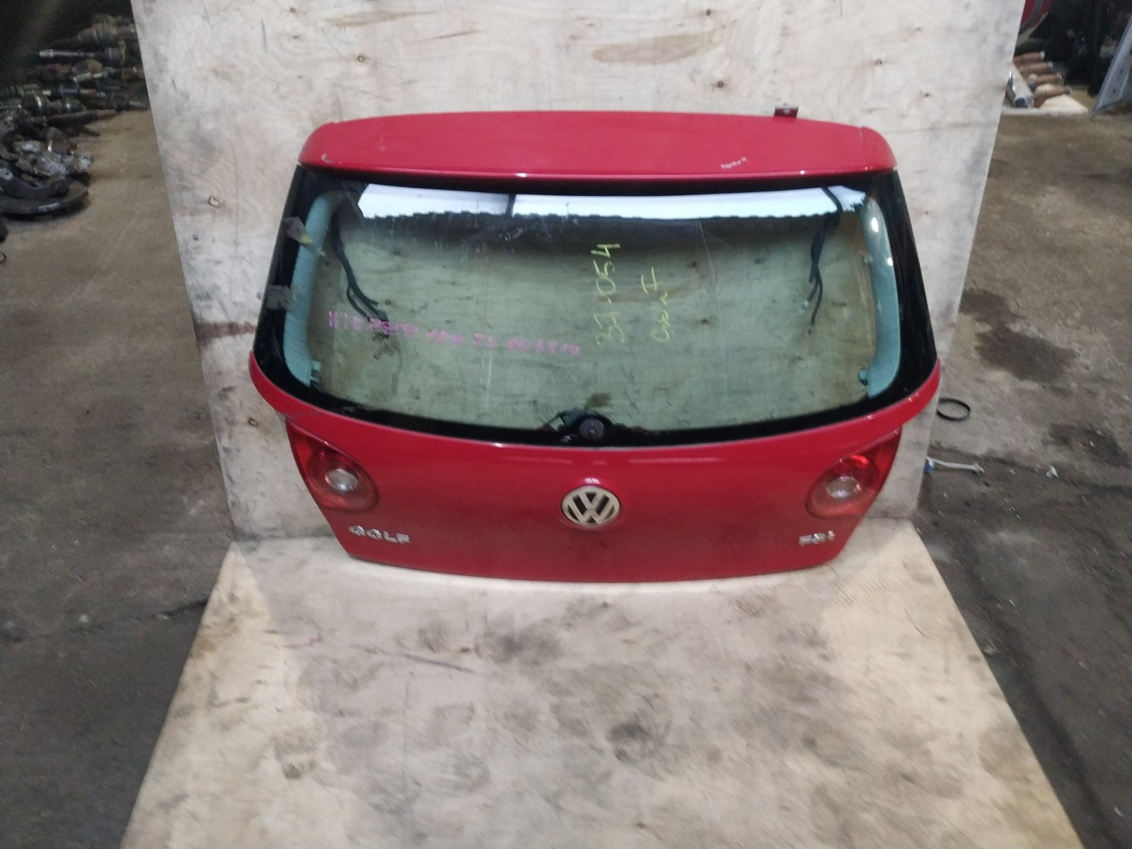 Дверь багажника Volkswagen Golf 5 ХЭТЧБЭК 2001 (б/у)