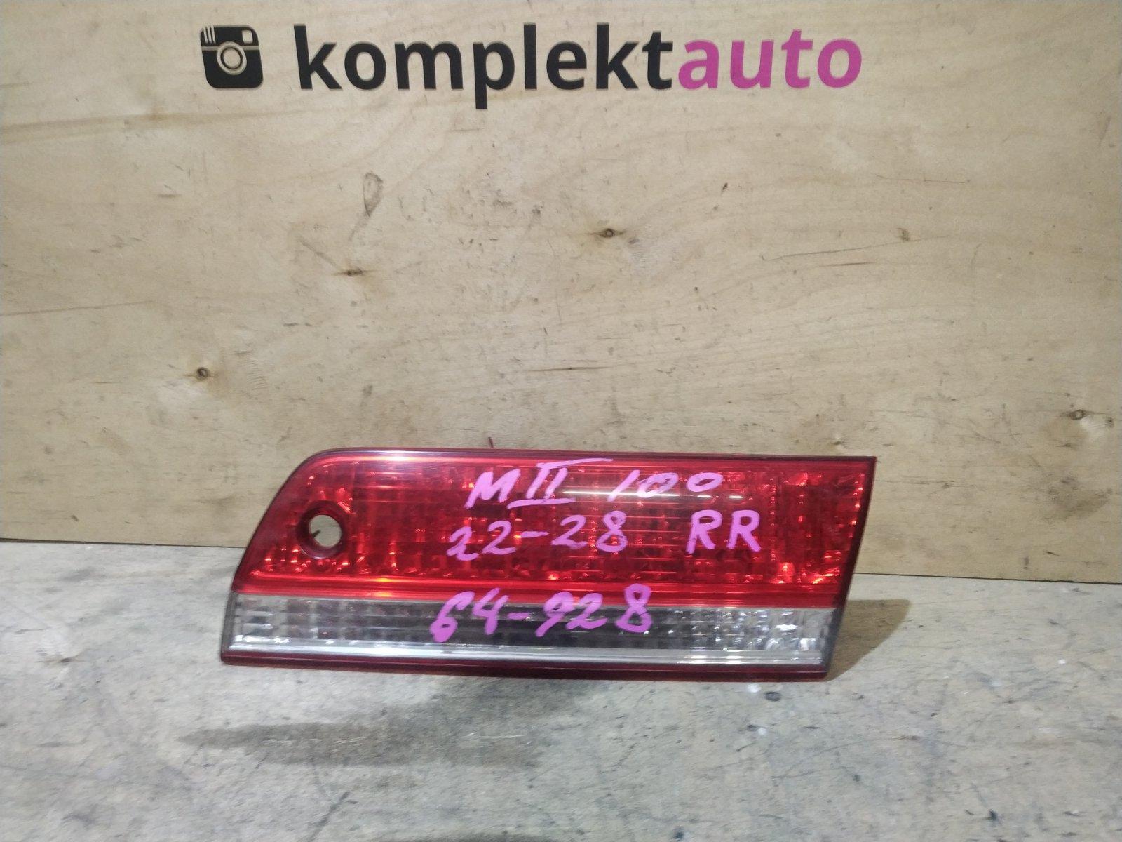 Фонарь в крышку багажника Toyota Mark 2 100 1998 задний правый (б/у)