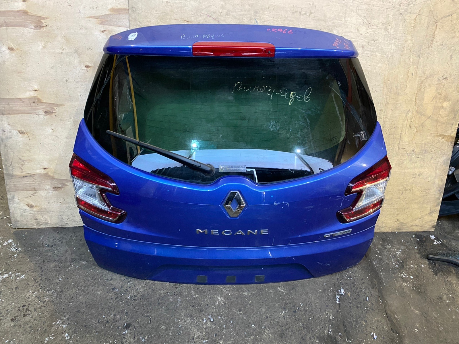 Дверь багажника Renault Megane 3 2009 (б/у)
