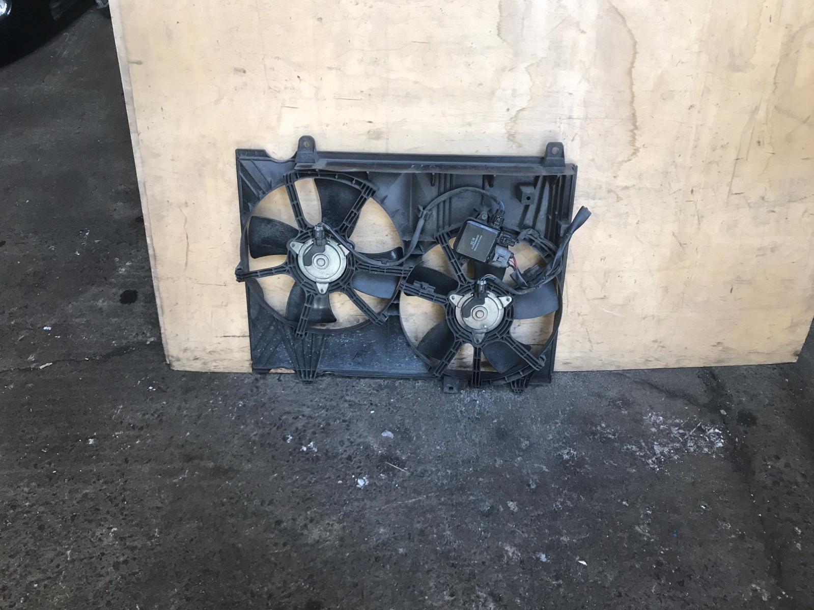 Диффузор с вентилятором Nissan Elgrand E51 VQ25 (б/у)