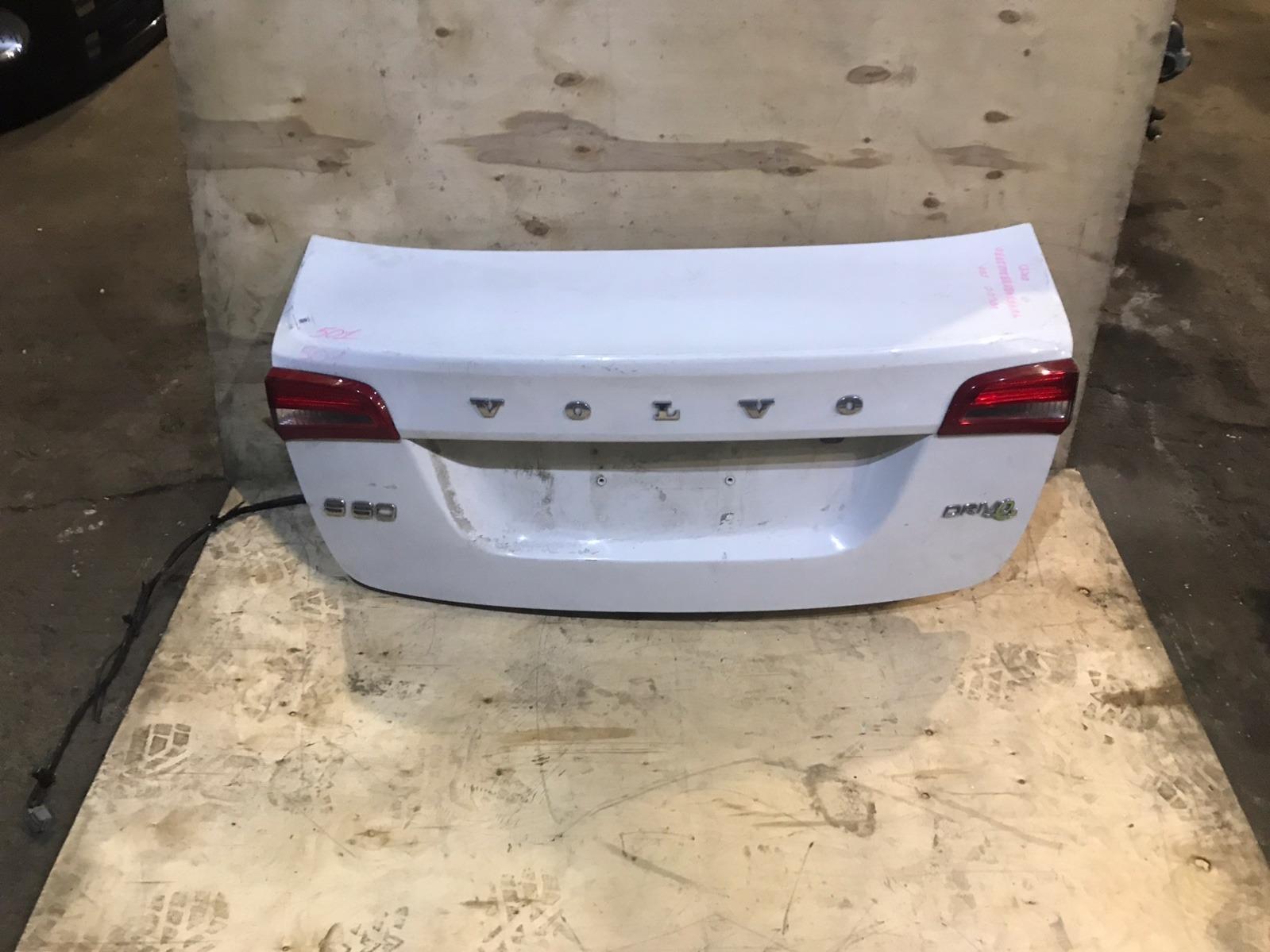 Крышка багажника Volvo S60 2 2010 (б/у)